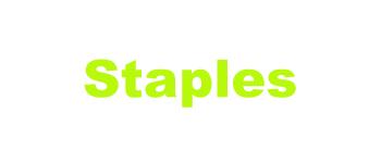 Staples-Arial Black