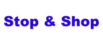 Stop&Shop-Arial Black